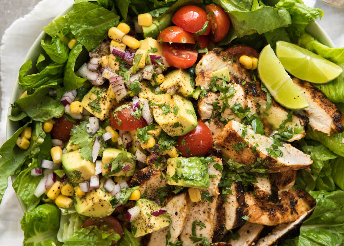 Mexican Chicken Salad - Healthy nutritious Meals - Fitness Collaborative