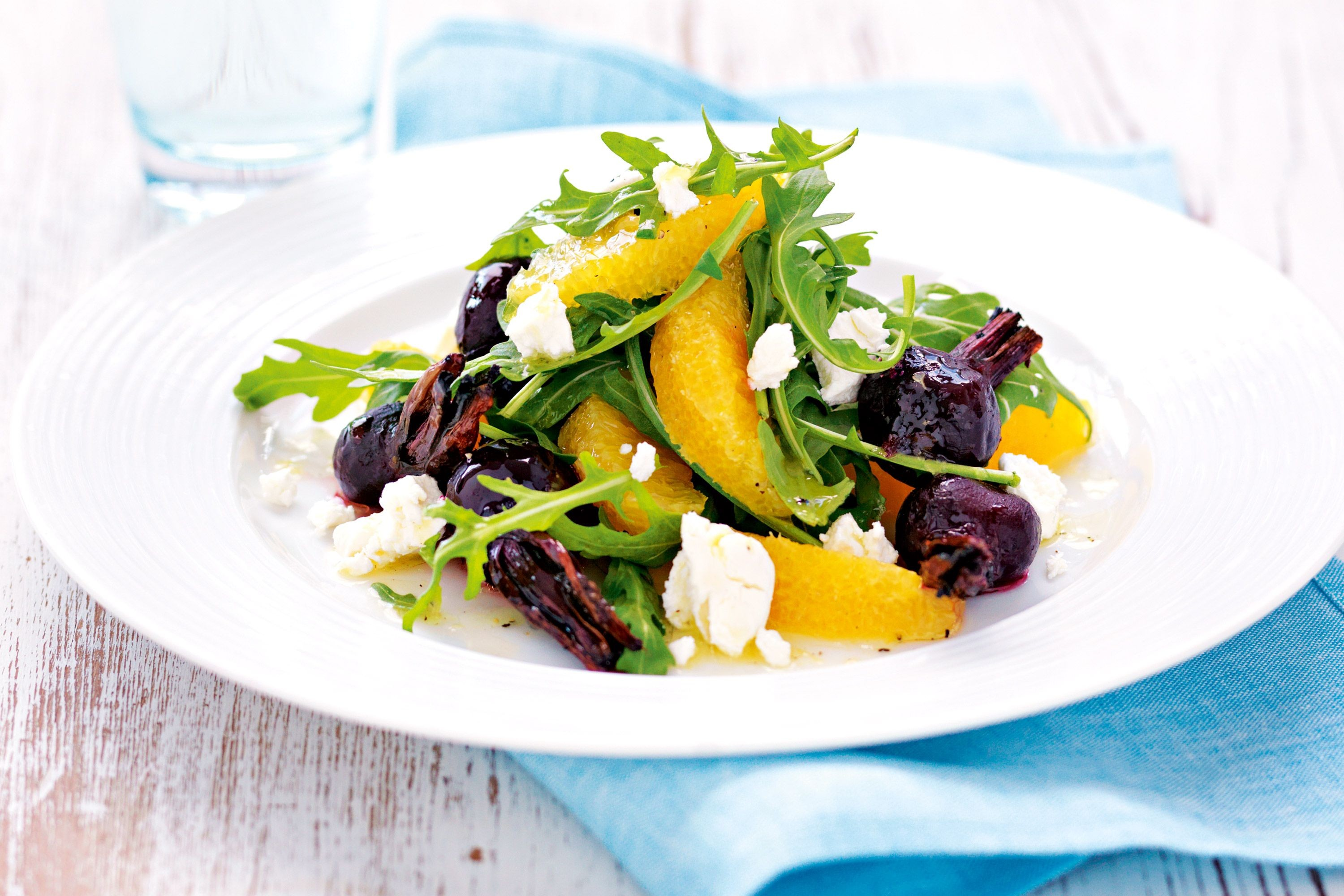 Bay-Infused Beetroot and Orange Salad